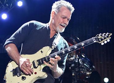 Eddie Van Halen, sus guitarras hasta 2020