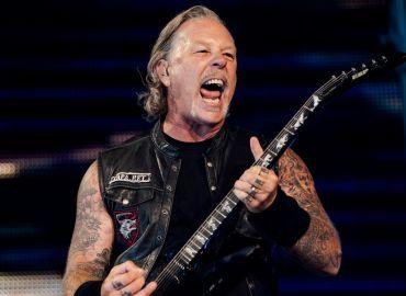 James Hetfield, sus guitarras hasta 2021
