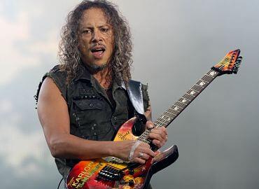 Kirk Hammett, sus guitarras hasta 2021
