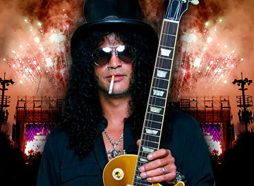 Slash, sus guitarras hasta 2021
